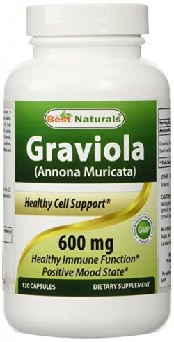 Best Naturals Graviola 600 mg 120 Capsules