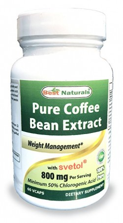 Best Naturals Green Coffee Bean with Svetol 60 Capsules