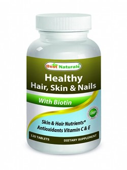 Best Naturals Healthy Hair Skin & Nails 120 Tablets