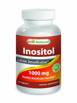Best Naturals Inositol 1000 mg 60 Tablets