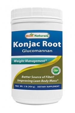 Best Naturals Konjac Glucomanan Root 1 lb