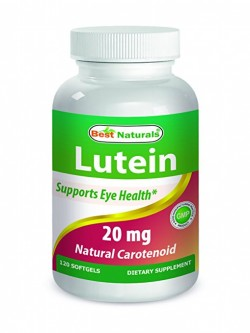 Best Naturals Lutein 20 mg 120 Softgels