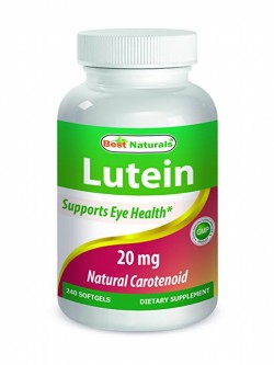 Best Naturals Lutein 20 mg 240 Softgels