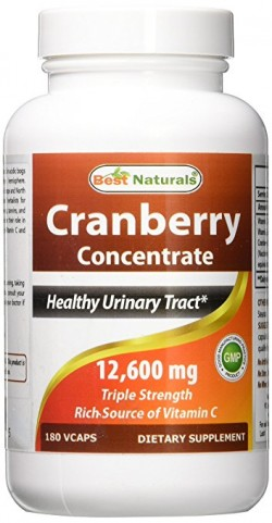 Best Naturals Cranberry Concentrate 12600 mg 180 Vcaps