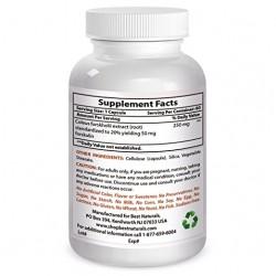Best Naturals Forskolin 50 mg 60 Capsules
