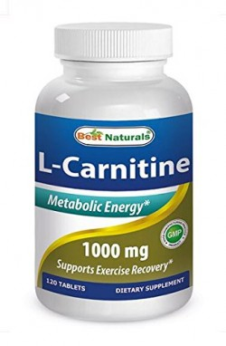 Best Naturals L-Carnitine 1000mg 120 Tablets