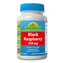 Nova Nutritions Black Raspberry 550mg 90 vcaps