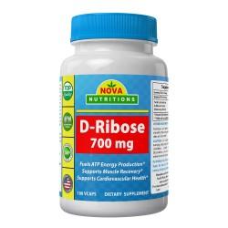 Nova Nutritions D-Ribose 700mg 180 vcaps