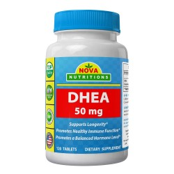 Nova Nutritions DHEA 50mg 120 Tablets