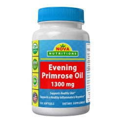 Nova Nutritions Evening Primrose Oil 1300mg 120 softgels
