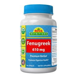 Nova Nutritions Fenugreek 610mg 360 capsules