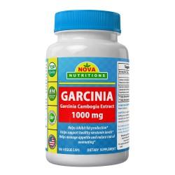 Nova Nutritions Garcinia Garcinia Cambogia Extract 1000mg 180 veggie caps