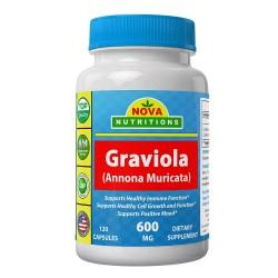 Nova Nutritions Graviola 600 mg 120 Capsules