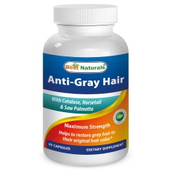 Best Naturals Anti-gray Hair formula 60 capsules