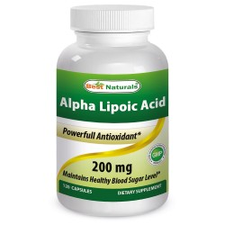 Best Naturals Alpha Lipoic Acid 200mg 120 Capsules