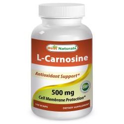 Best Naturals L-Carnosine 500mg 100 vcaps
