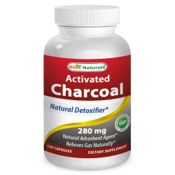 Best Naturals Activated Charcoal 280mg 120 Capsules