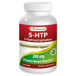 Best Naturals 5-HTP 200mg 120 capsules