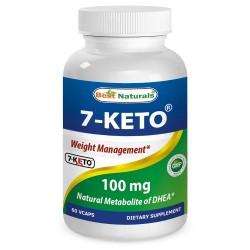 Best Naturals 7-KETO 100 mg 60 Vcaps