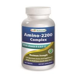 Best Naturals Amino-2200 Complex 180 Tablets