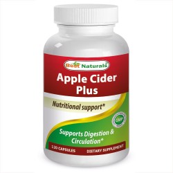Best Naturals Apple Cider Plus 120 Capsules