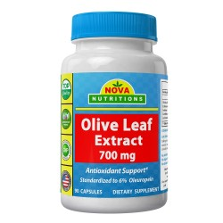 Nova Nutritions Olive Leaf Extract 700mg 90 Capsules